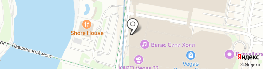 СушиТун Wok на карте Красногорска