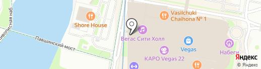 Страйк на карте Красногорска