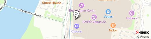 Element на карте Красногорска