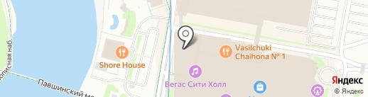 Papa`s Burger на карте Красногорска