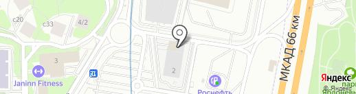 Московский областной фонд развития микрофинансирования субъектов малого и среднего предпринимательства на карте Красногорска
