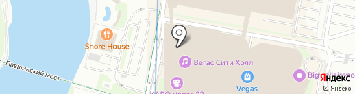 Синнабон на карте Красногорска