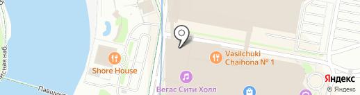 Телега на карте Красногорска