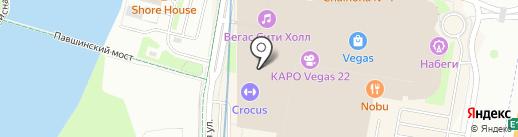КАРО на карте Красногорска