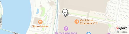 Сбарро на карте Красногорска