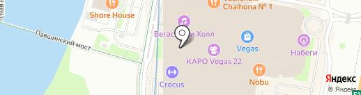 Паровозик на карте Красногорска