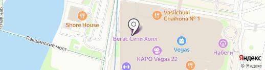 Кебаб Хана на карте Красногорска