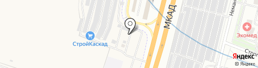 ЛЕСКОН на карте Москвы