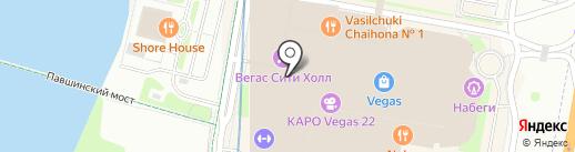 Живые соки на карте Красногорска