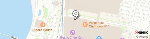 ЛЕДО на карте Красногорска