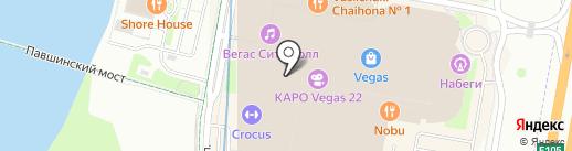 Choupette на карте Красногорска