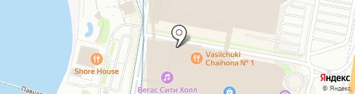 Наше время на карте Красногорска