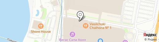 Бронницкий Ювелир на карте Красногорска
