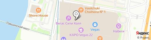 Meucci на карте Красногорска