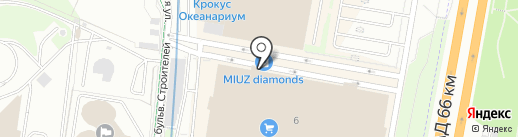 Divanger на карте Красногорска