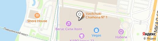 Эдоко на карте Красногорска