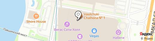 Organic shop на карте Красногорска