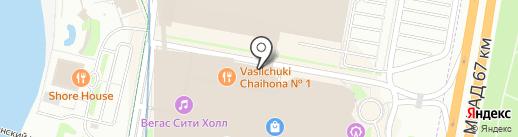 Банкомат, Сбербанк, ПАО на карте Красногорска