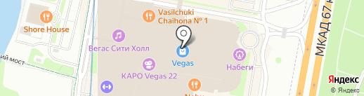 Nike на карте Красногорска