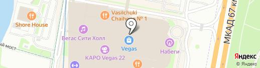 Oysho на карте Красногорска