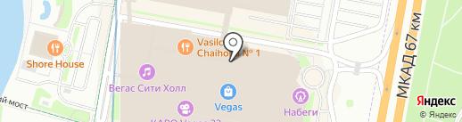 Adidas Kids на карте Красногорска