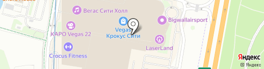 Инлавка на карте Красногорска