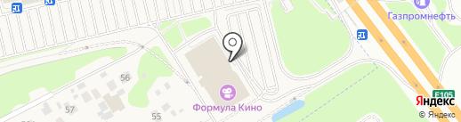Банкомат, Московский кредитный банк, ПАО на карте Новоивановского