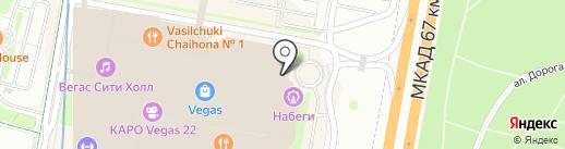 Амуаж на карте Красногорска