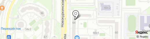 Paranoia на карте Химок