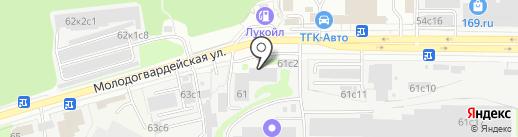 Окошкофф на карте Москвы