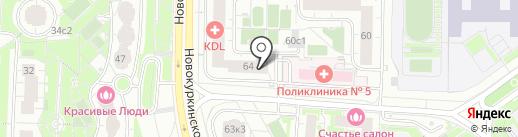 Амед на карте Химок