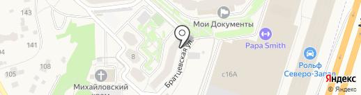 Отрадненский пункт полиции на карте Путилково