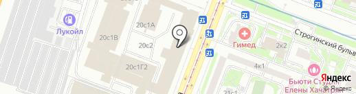 Modus Vivendi на карте Москвы
