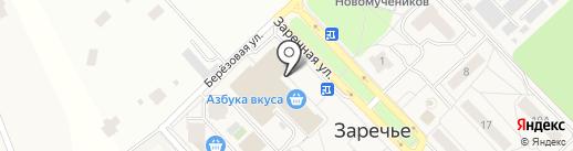 ГорЗдрав на карте Заречья