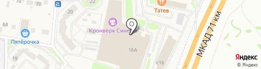 Silverpool на карте Москвы