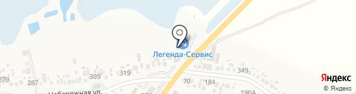 Магазин раков на карте Анапы