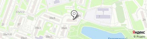 Саф-Инжиниринг на карте Москвы