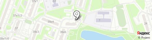 4 сезона на карте Москвы
