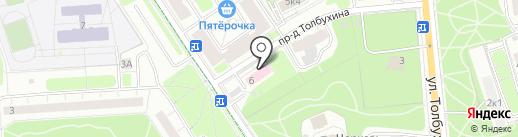 МаркоБраво на карте Москвы