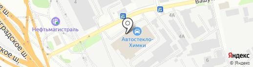 Райс Моторс на карте Химок