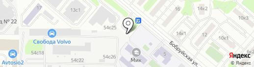 Мастер Шума на карте Москвы
