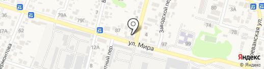Пивной домик на карте Анапы