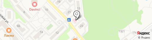 Амбулатория пос. Заречье на карте Заречья