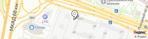 Петро Стоун на карте Москвы