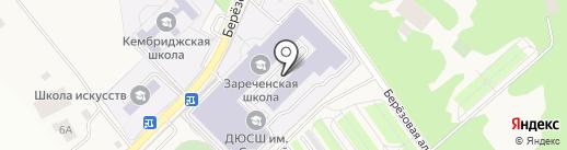 Динамо на карте Заречья