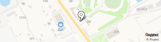 Продуктовый магазин на карте Озерецкого