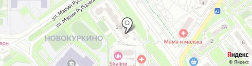 Арсити на карте Химок
