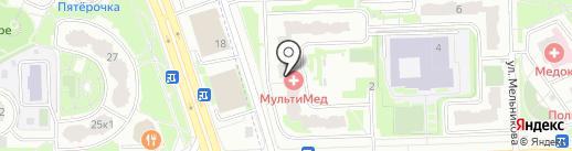 МАКС-М на карте Химок