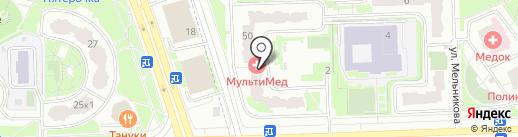 Бродяга на карте Химок