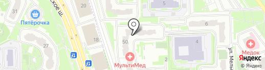 ТЕХРОМ на карте Химок